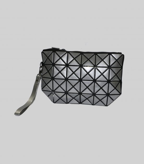 GREY MAKEUP PURSE